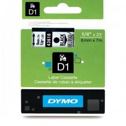 Dymo Ruban 6mm Noir Sur Trans Pour Lp1