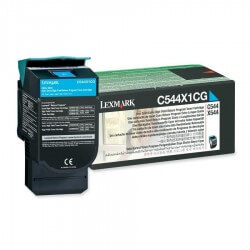 Lexmark C544X1CG toner cyan