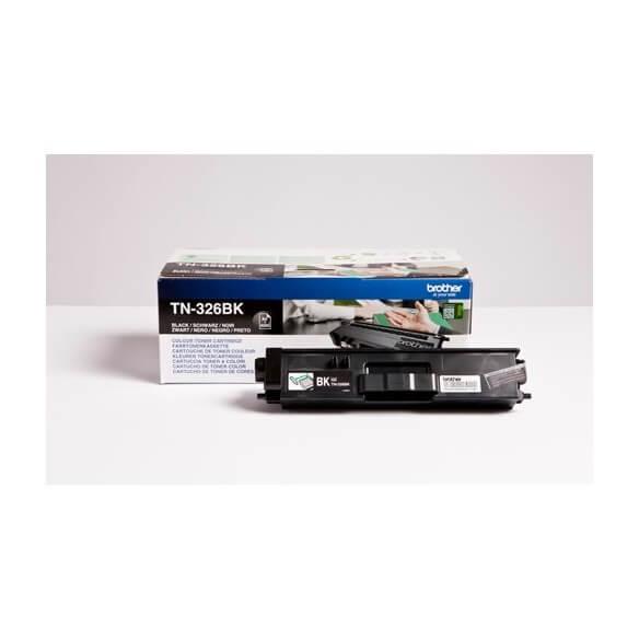 Brother TN326BK Cartouche de toner Noir 4000 pages pour DCP-L8450CDW/MFC-L8650/8850