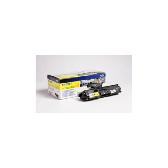 Brother TN326Y Cartouche de toner Jaune 3500 pages pour DCP-L8450CDW / MFC-L8650 / L8850