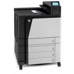 HP LaserJET Enterprise M855DN Imprimante laser couleur + 3 Bacs supplementaires A3 - 1