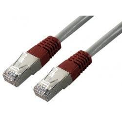 Cables mcl samar CABLE CROISE RJ 45 CAT 6