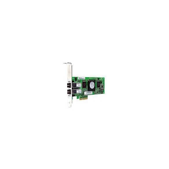 HP Adaptateur de bus hôte à double contrôleur PCIe 4Gb FC12 - 1