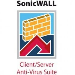 Sonicwall AntiVirus/Client/Server 250u 1yrs