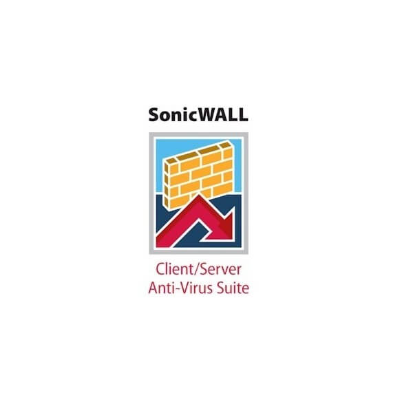 Sonicwall AntiVirus/Client/Server 250u 1yrs - 1