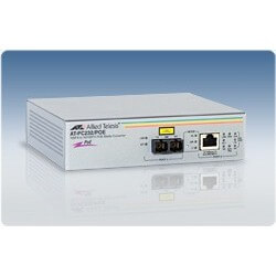 Allied Telesis AT-PC232/POE network media converter - 1