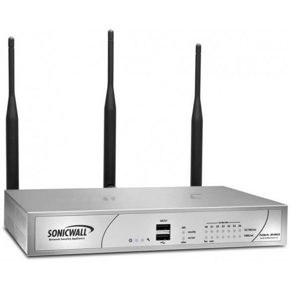 Sonicwall Firewall/NSA 220 Wless-N 8x5 1Yr Int - 1
