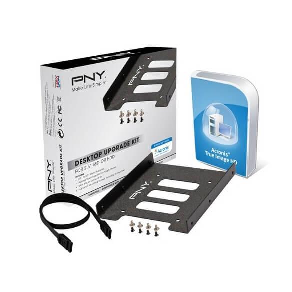"Pny Desktop Upgrade Kit for 2.5"" SSD /HDD - 1"