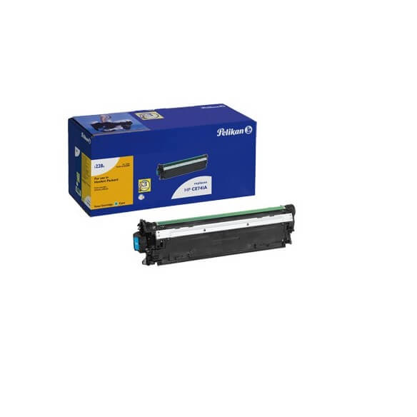 PELIKAN  toner compatible Cyan HP CE741A - 11 150 pages (photo)
