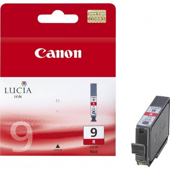 Consommable Canon PGI-9  Encre Pigment Rouge