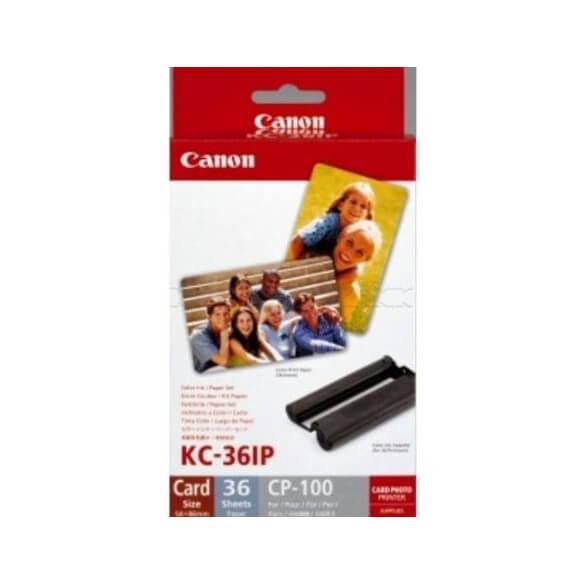 Consommable Canon Paper KC-36IP kit Ruban + papier
