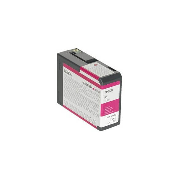 Consommable Epson Encre Pigment Magenta SP 3800 (80ml)