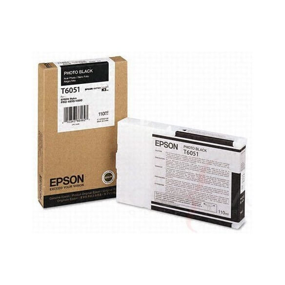 Consommable Epson Encre Pigment Noir Photo (110ml)