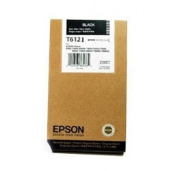 Epson T612100 cartouche d'encre noir photo 220 ml