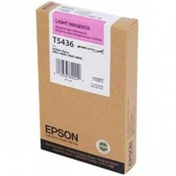 Consommable Epson Encre Pigment Magenta Clair SP 4000/7600/9600 (110ml)