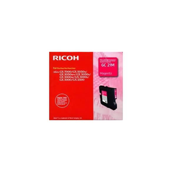 Ricoh GC 21M Cartouche d'encre Magenta 1000 pages