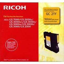 Ricoh GC 21Y Cartouche d'encre Jaune 1000 pages