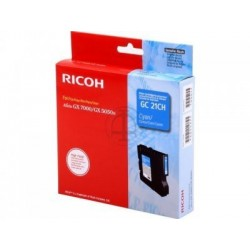 Ricoh GC21CH Cartouche d'encre Cyan 2300 pages