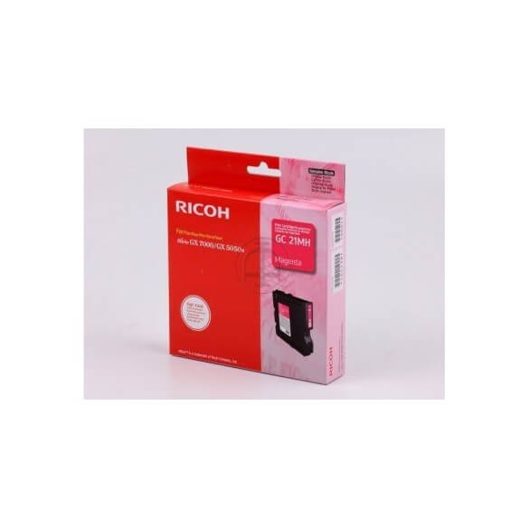 Consommable Ricoh  GC21MH Cartouche d'encre Magenta 2300 ...