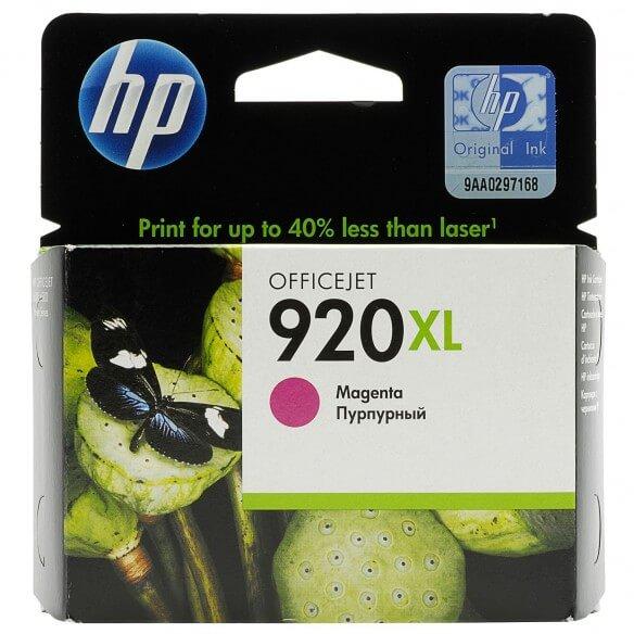 HP Cartouche d'encre magenta Officejet920XL