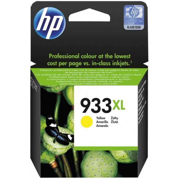 HP Cartouche d'encre Officejet jaune 933XL