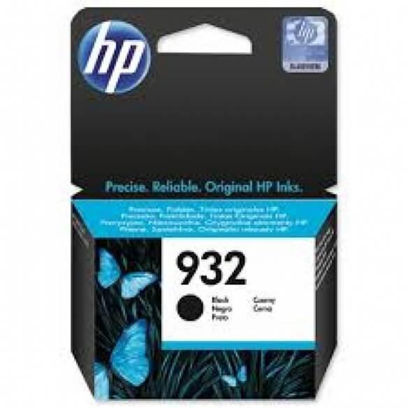 HP Cartouche d'encre noire Officejet HP932
