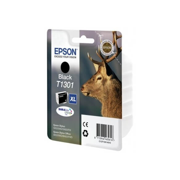 Consommable EPSON T1301BK  cartouche d'encre noir