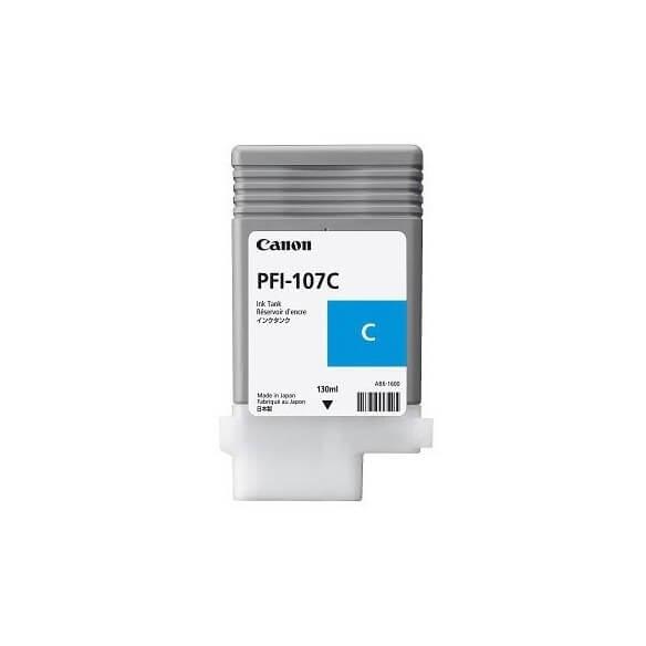 Consommable Canon PFI-107 C cartouche d'encre cyan