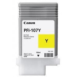 Canon PFI-107 cartouche d'encre jaune - 1