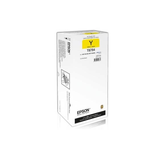 Consommable Epson T87844 Y cartouche d'encre jaune de 50000 pages