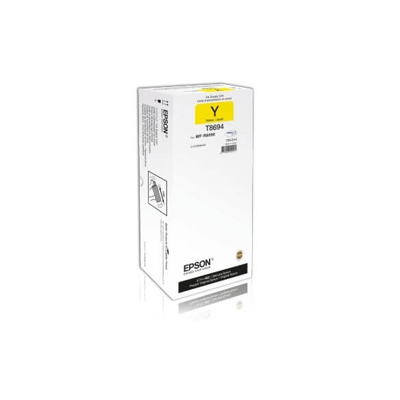 Consommable Epson T8694 Y cartouche d'encre jaune de 75000 pages