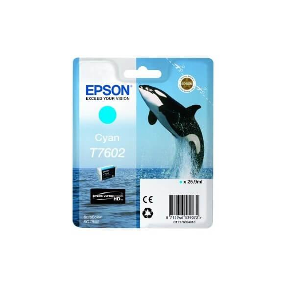 Consommable Epson T7602 C cartouche d'encre cyan