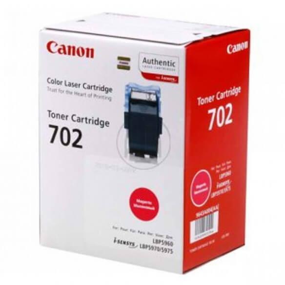 Canon 702 / 9643A004 cartouche de toner magenta d'origine 6000 pages