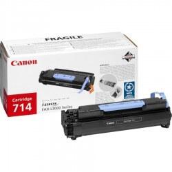 Canon 714 cartouche de toner noir FAX L3000/3000IP 4 500 pages.