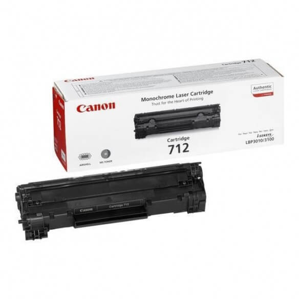 Consommable Canon 712 cartouche de toner noir 1500 PAGES