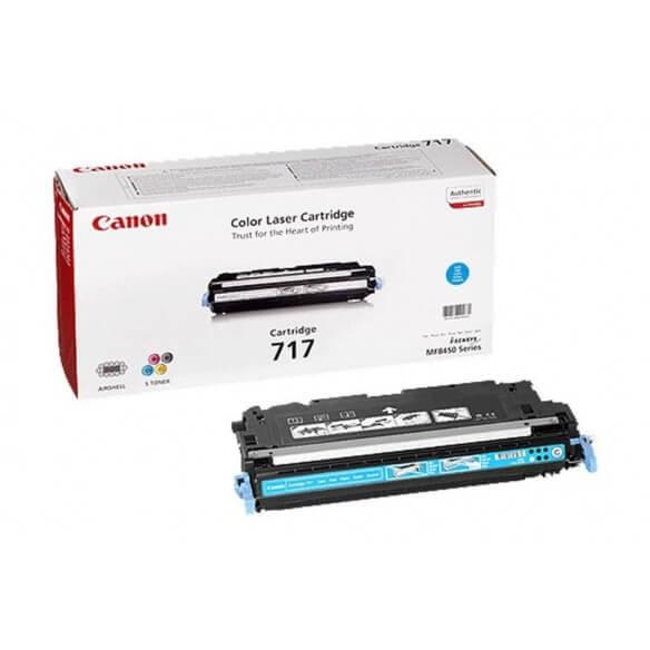 Canon 717 Cartouche de toner Cyan 4000 pages pour MF8450
