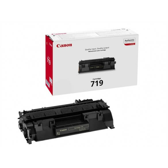 Canon 719 Cartouche de toner noir 2100 pages