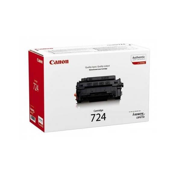 Canon 724 cartouche de toner noir d'origine 6000 pages