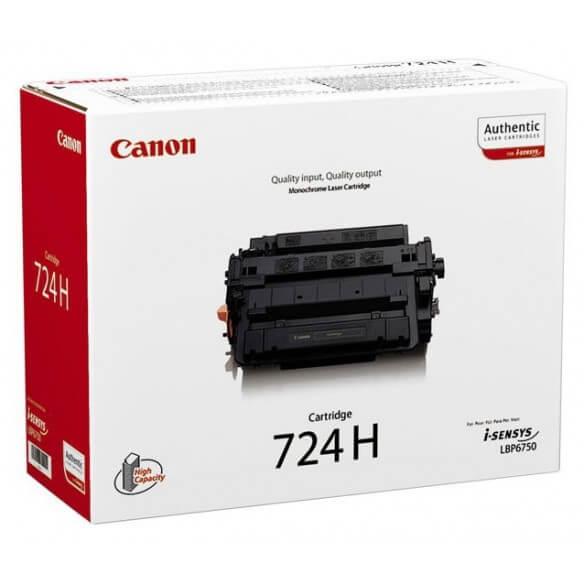 Canon CRG-724H Cartouche de toner noir 12500 pages pour LBP-6750DN