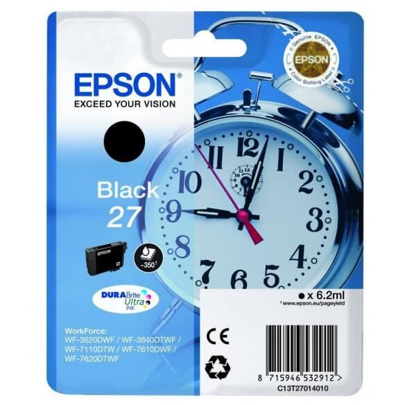 Epson 27BK cartouche d'encre noir de 300 pages (photo)