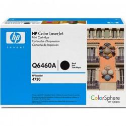 HP Q6460A Cartouche d'impression noire Color LaserJet Noir 12000 pages