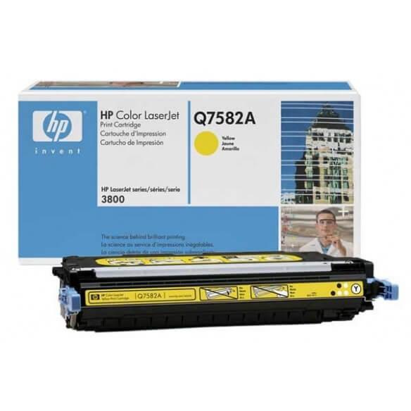 HP Q7582A Cartouche de toner Color LaserJet 503A Jaune 6000 pages
