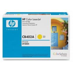 HP CB402A Cartouche de toner LaserJet 642A Jaune 7500 pages