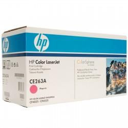 HP CE263A Cartouche d'impression magenta Color LaserJet 648A 11000 pages