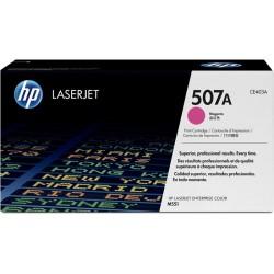 HP CE403A Cartouche de toner LaserJet 507A Magenta 6000 pages