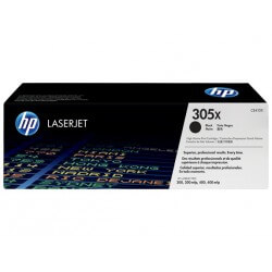 HP CE410X Cartouche de toner LaserJet305X Noir 4000 pages