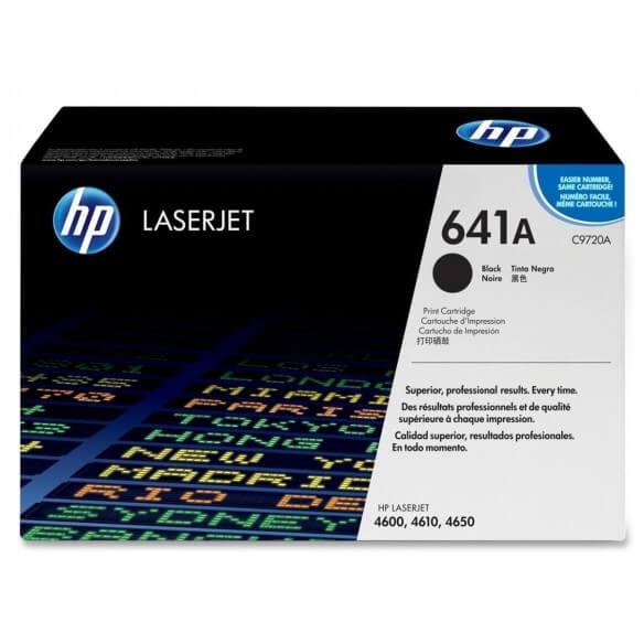 HP C9720A Cartouche de toner LaserJet641A Noir 9000 pages