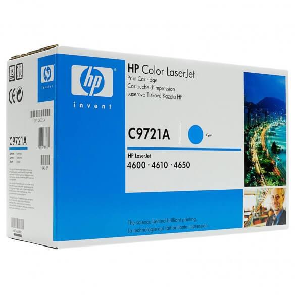 HP C9721A Cartouche de toner LaserJet 641A Cyan 8000 pages