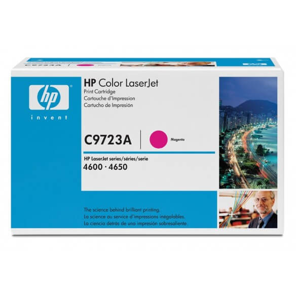 HP C9723A Cartouche de toner LaserJet 641A Magenta 8000 pages
