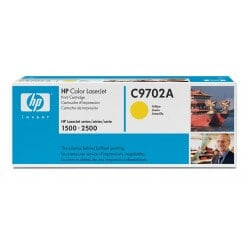 HP C9702A Cartouche de toner LaserJet121A Jaune 4000 pages